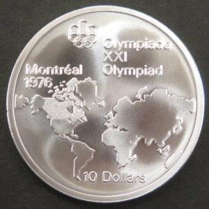 モントリオール五輪記念金貨