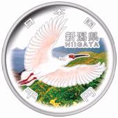 新潟県地方自治コイン1000円クラッド貨幣