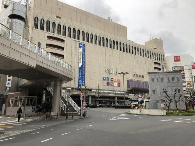 八王子駅の周辺