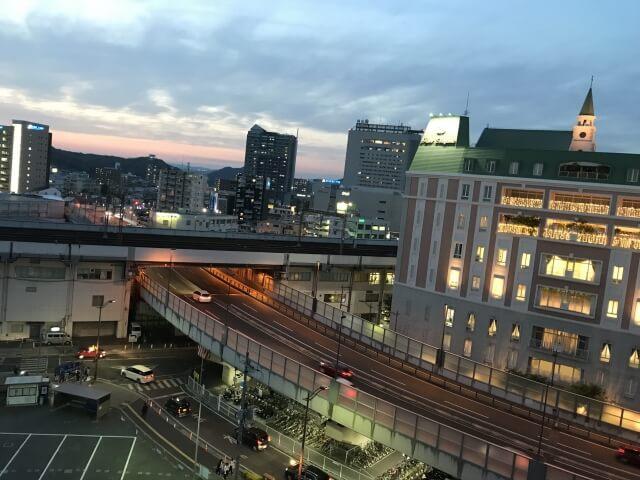 岡山市の市街地