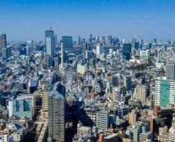 東京都目黒区の町並み