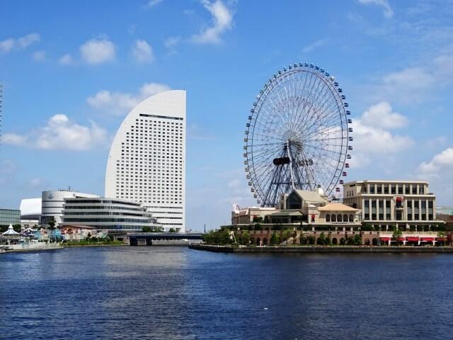 横浜市の町並み