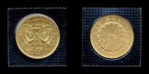天皇陛下御在位60年記念100000円金貨