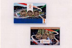 FIFAワールドカップ記念硬貨(3点セット)