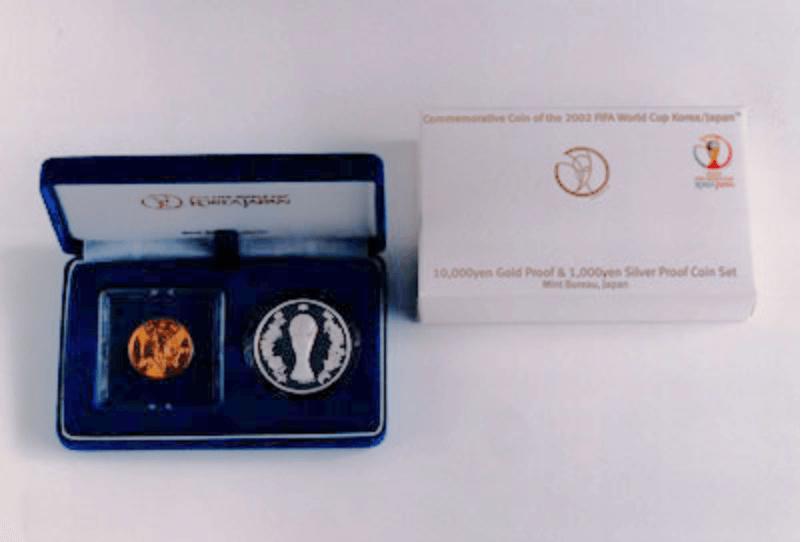 FIFAワールドカップ記念硬貨(2点セット)