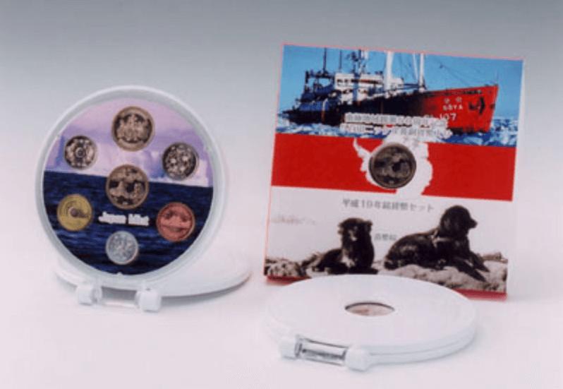 南極地域観測50周年記念ミントセット