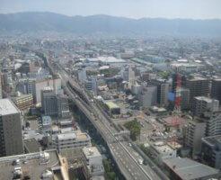 東大阪市の街並み